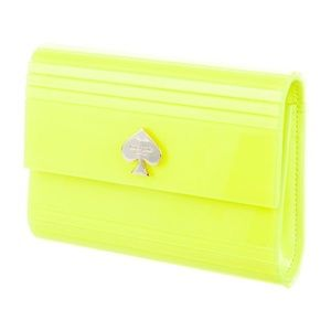 Kate Spade Neon Backstage Suze Clutch